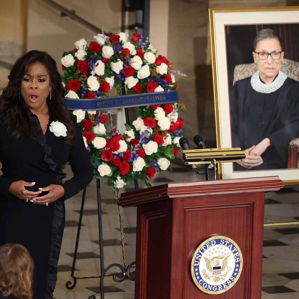 Denyce Graves, Ruth Bader Ginsburg memorial