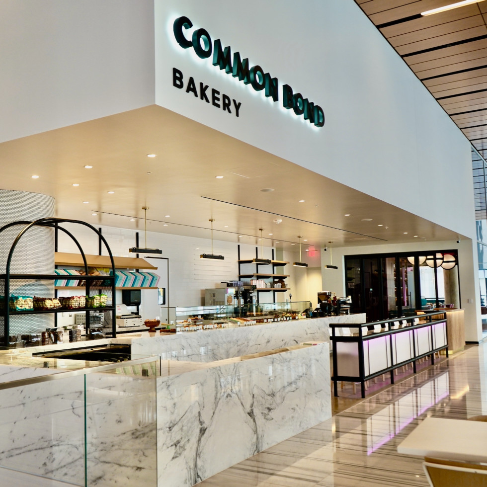 Common Bond downtown bakery counter