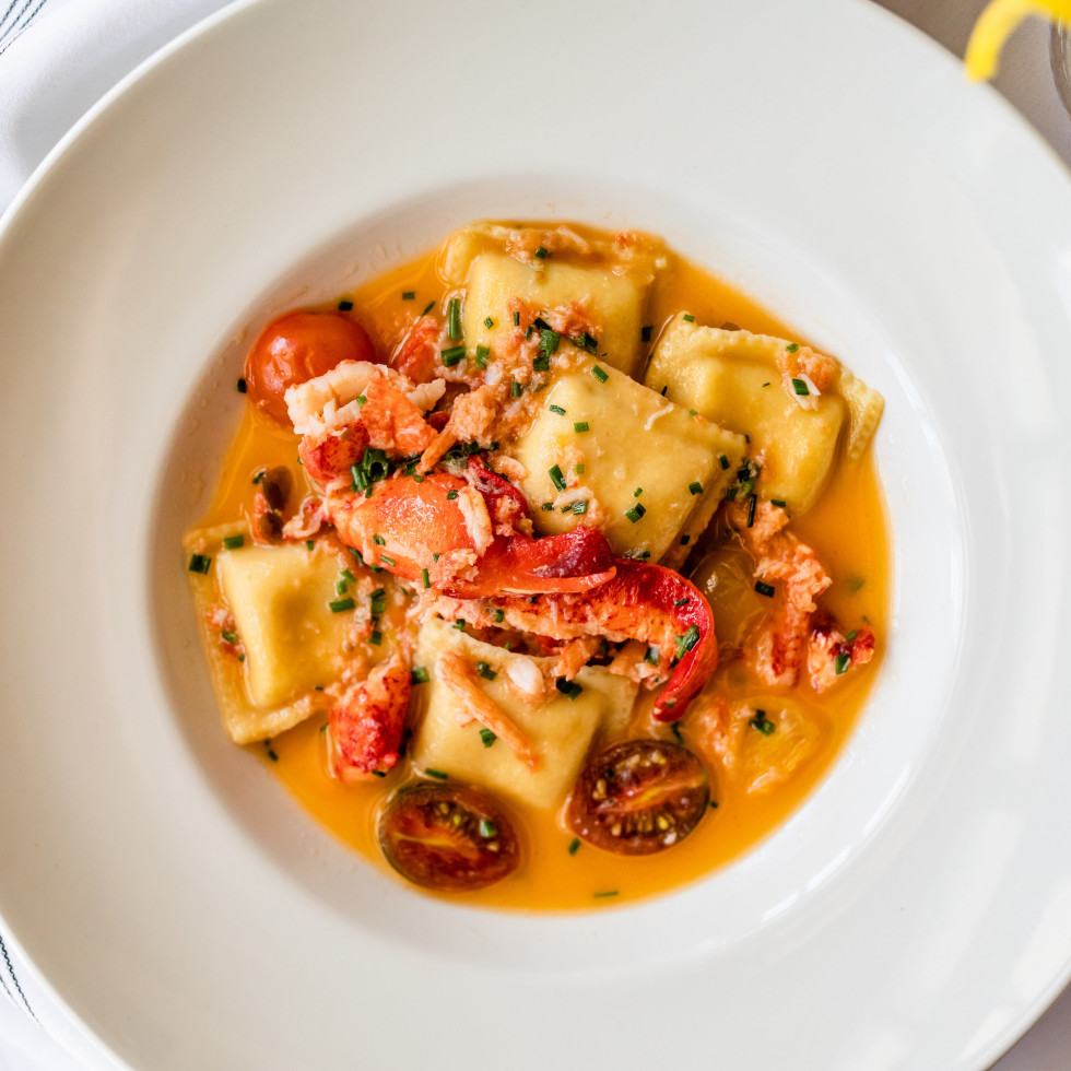 Lulu's River Oaks lobster ravioli