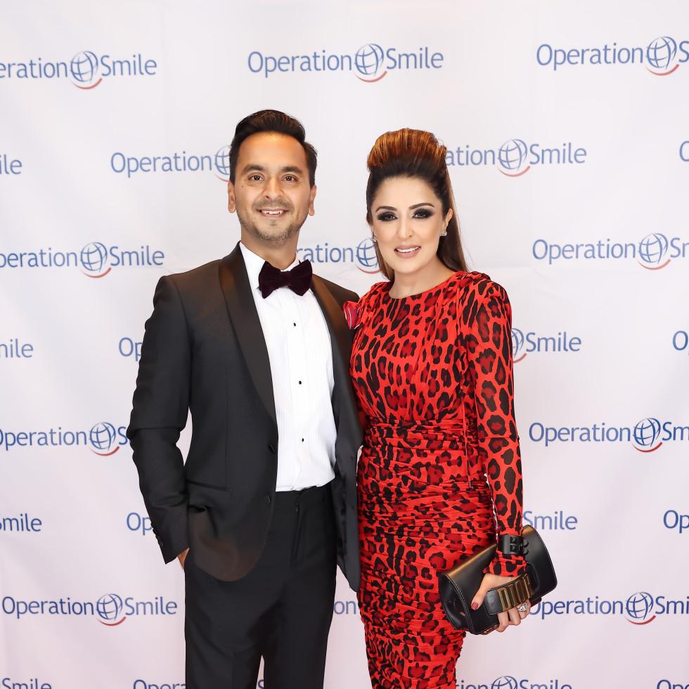 Operation Smile Gala 2021 Nick Sneha Merchant