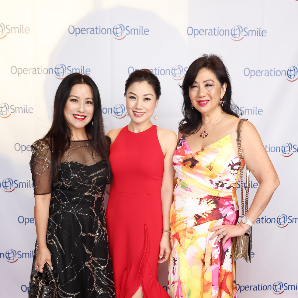 Operation Smile Gala 2021 20 Gina Li Tiffany Le Dr. Alice Mao Brams