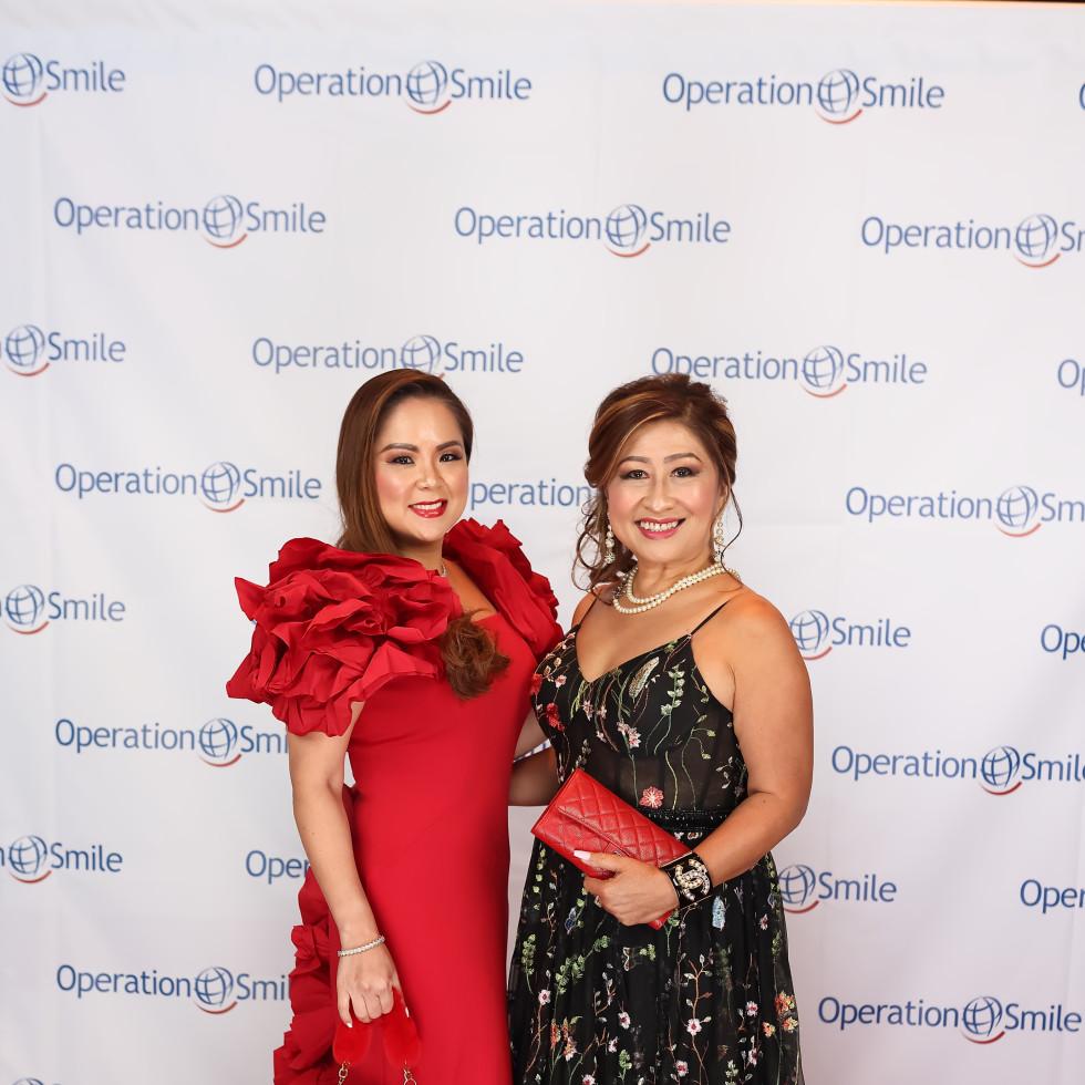 Operation Smile Gala 2021 Ann Ton Christine Nguyen