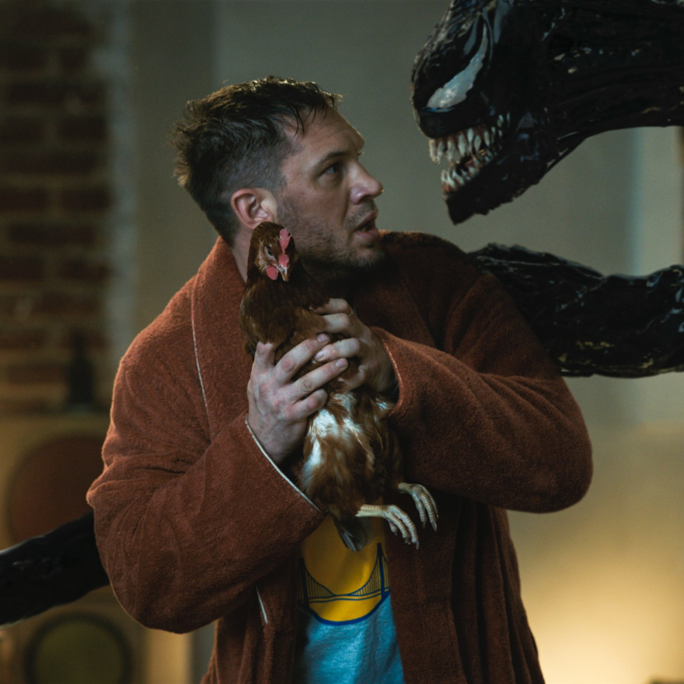 Tom Hardy in Venom: Let There Be Carnage