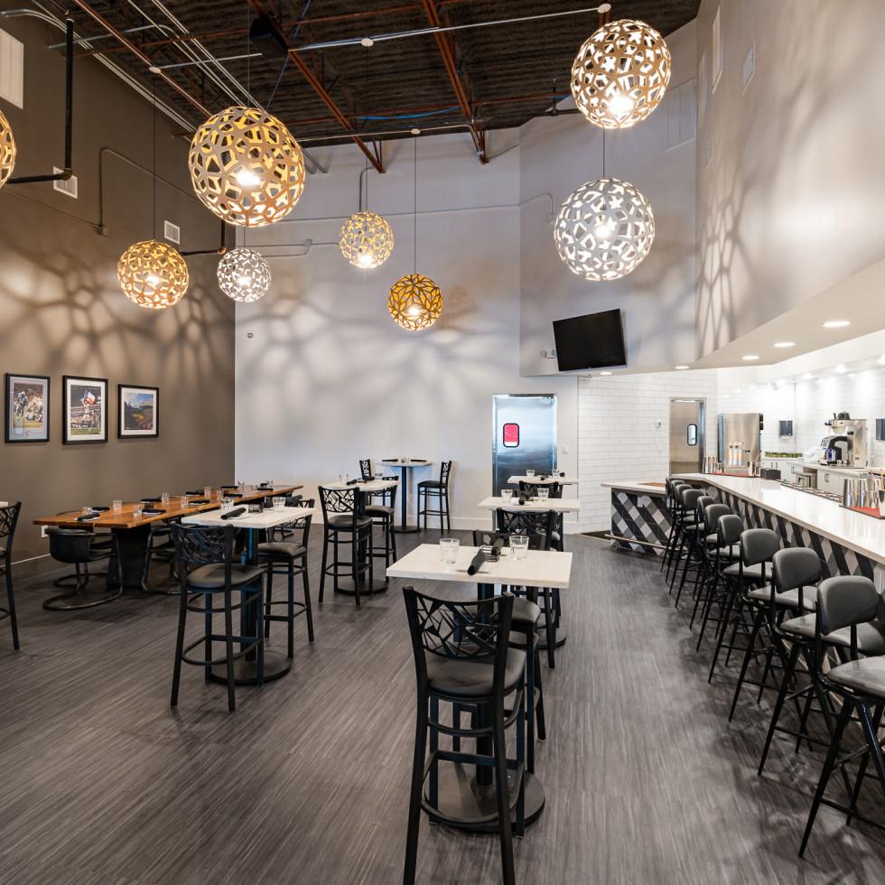New York Eatery interior