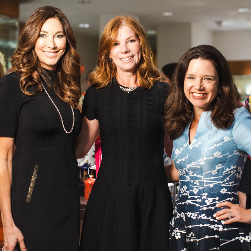 Sunie Solomon, Kelly Carter, Lindsay Ballotta
