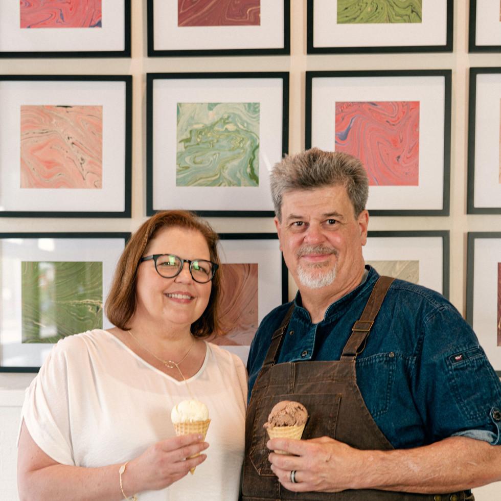 Craft Creamery Kim Kaase and Steven Marques