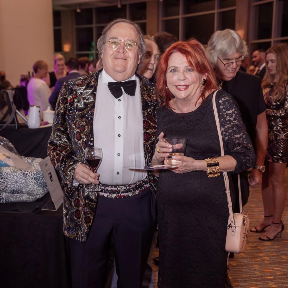 Dr. Richard Gray, Marsha Pendleton-Gray