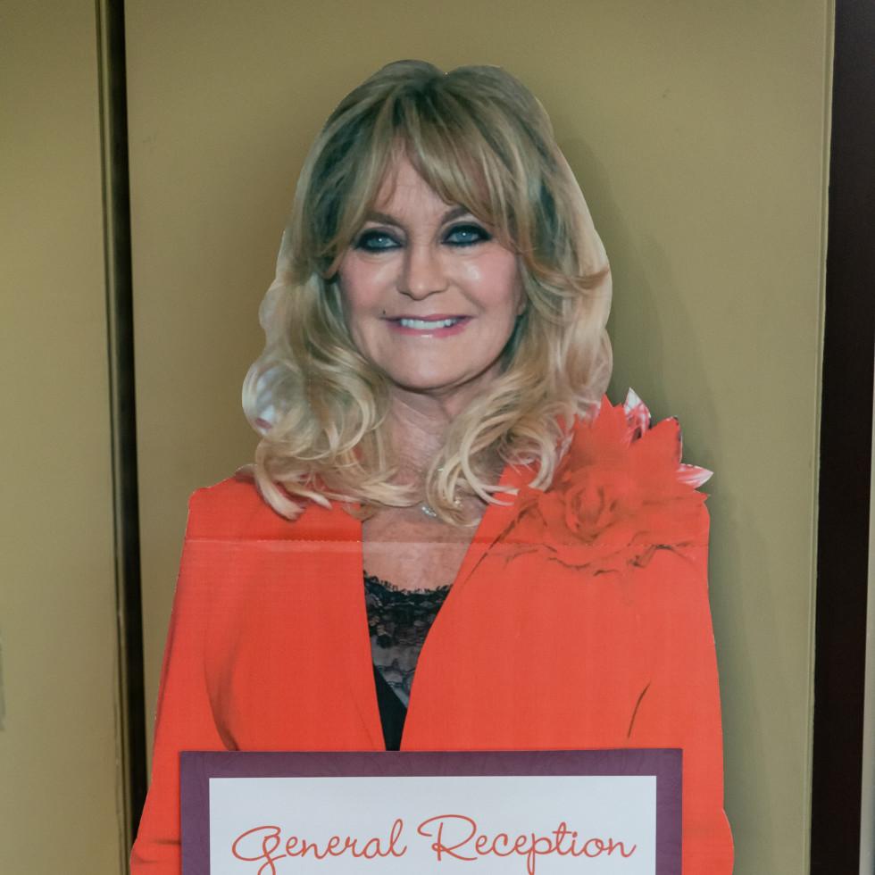 Goldie Hawn cutout