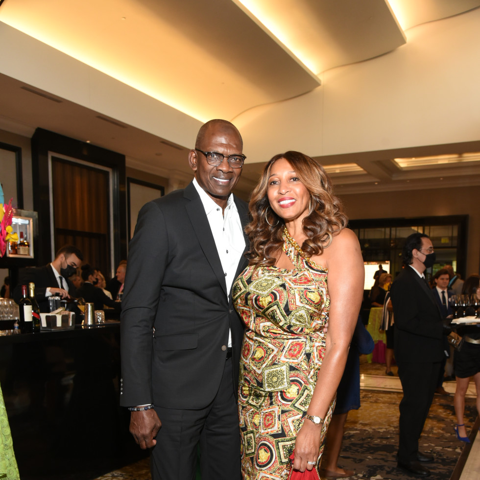 Houston Children's Charity Gala 2021 Morris and Toni Smith