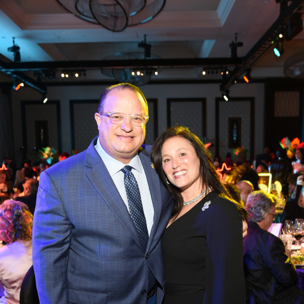 Houston Children's Charity Gala 2021 Constable Alan Rosen and Jennifer Rosen
