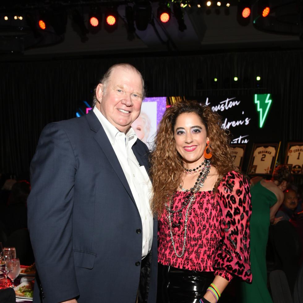 Houston Children's Charity Gala 2021 Paul and Kristina Somerville