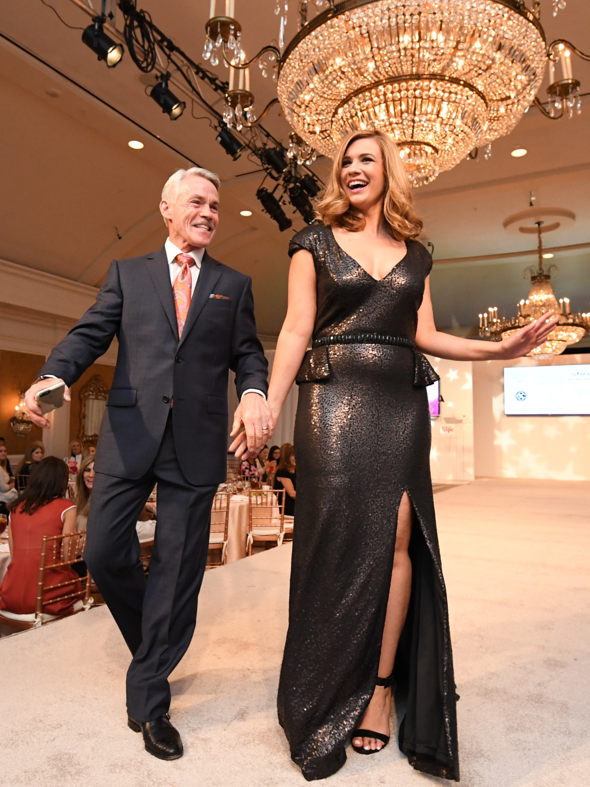 Dominique Sachse and news stars rule catwalk at Star of Hope