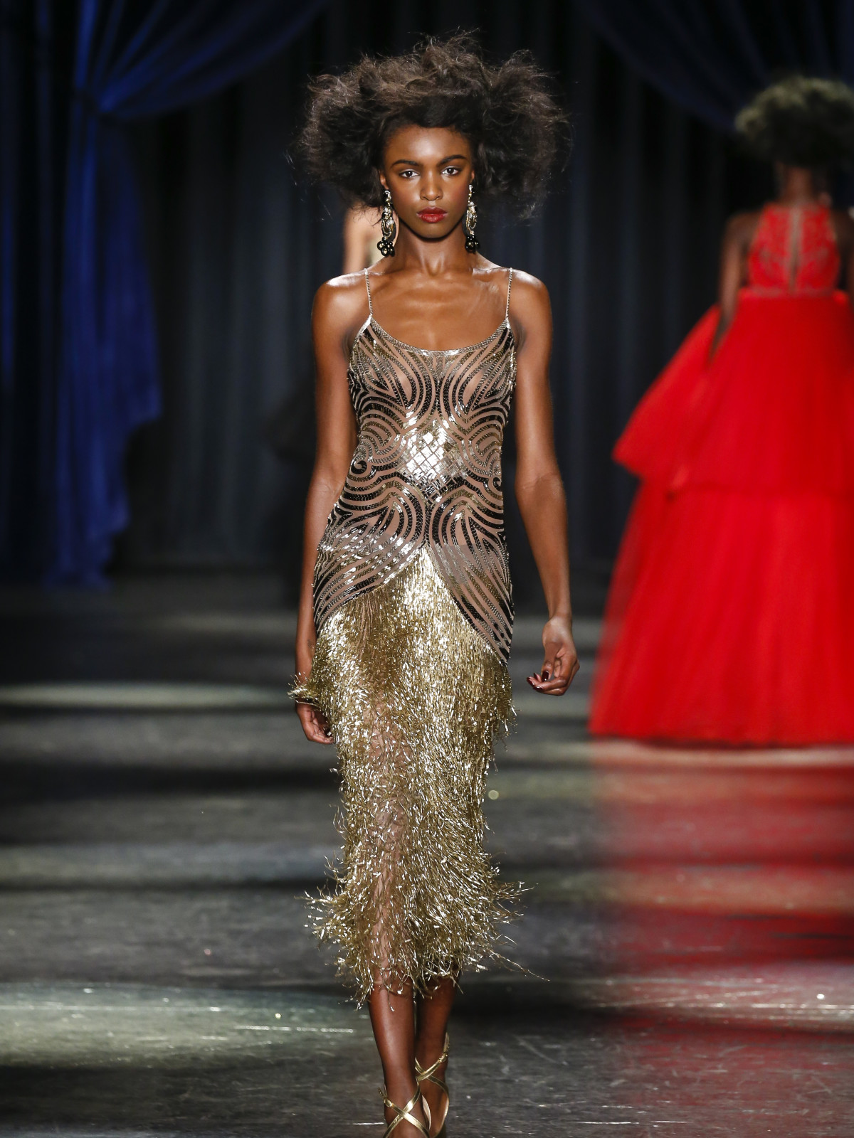 3593916e773 Naeem Khan ups his game with glittering gowns that are as good as ...