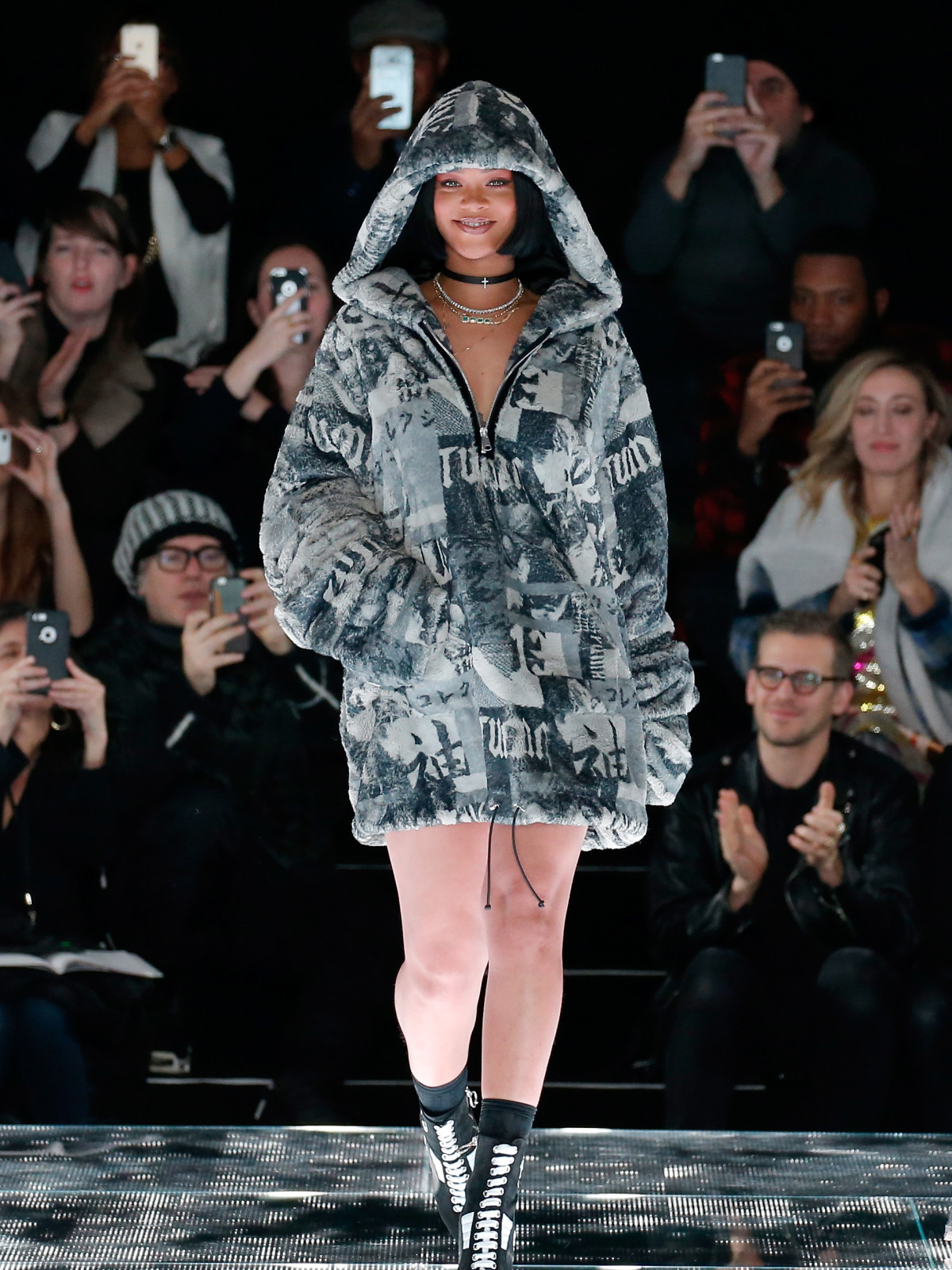 size 40 08525 26701 Rihanna debuts glamorous goth collection with strong point ...