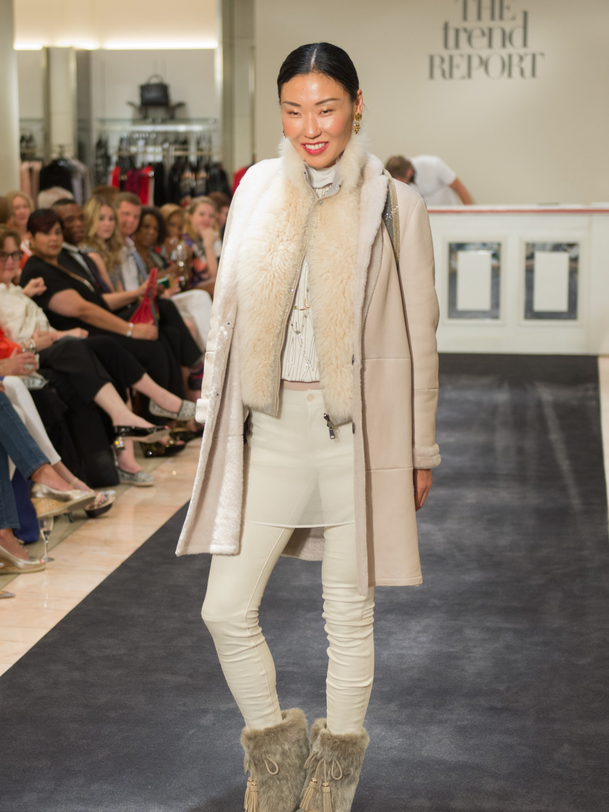 Neiman Marcus fall trend winter white