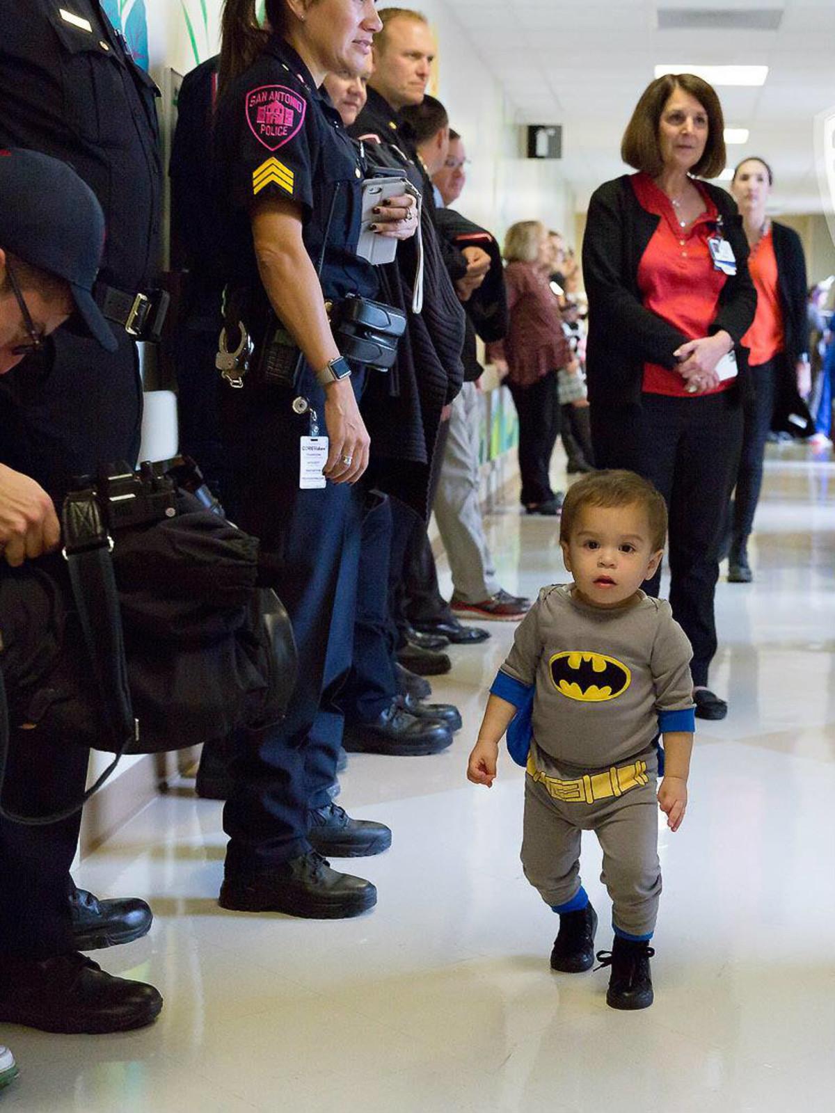 Superheroes surprise San Antonio hospital with marvel-ous