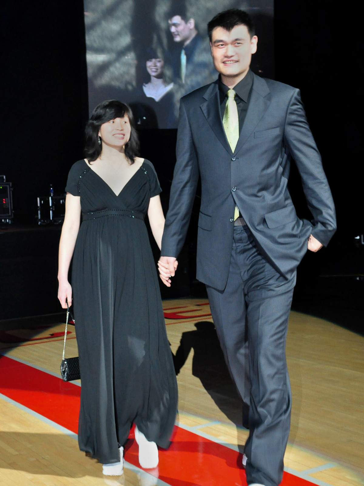 Yao Ming and wife are new parents of an All-American girl ...
