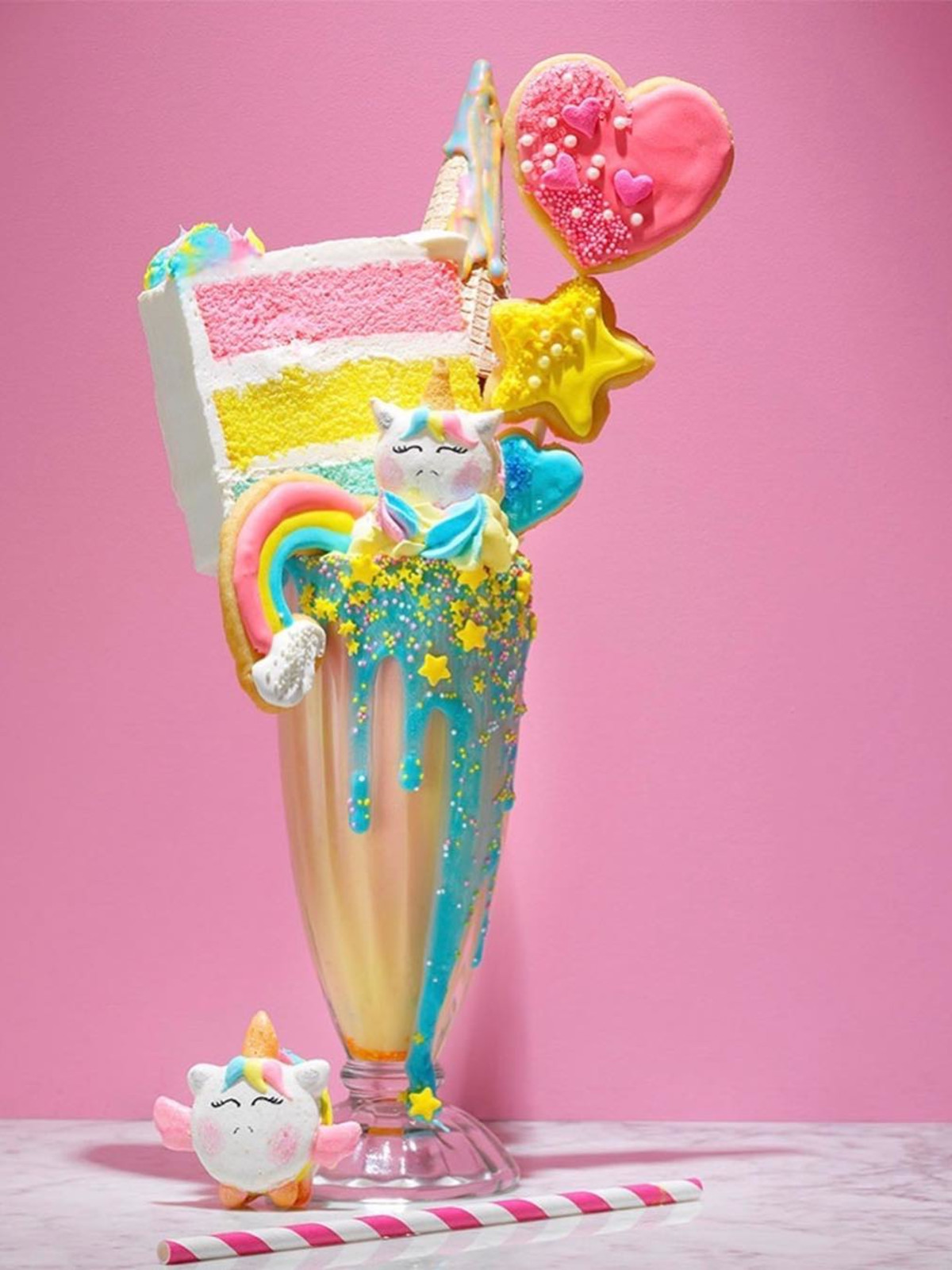 Magical new dessert shop showers Montrose with unicorns and