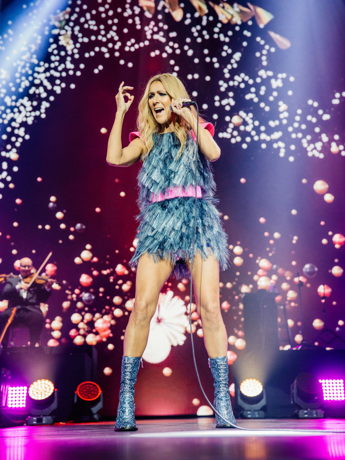 Celine Dion Brings Courage To Dallas On First U S Tour In