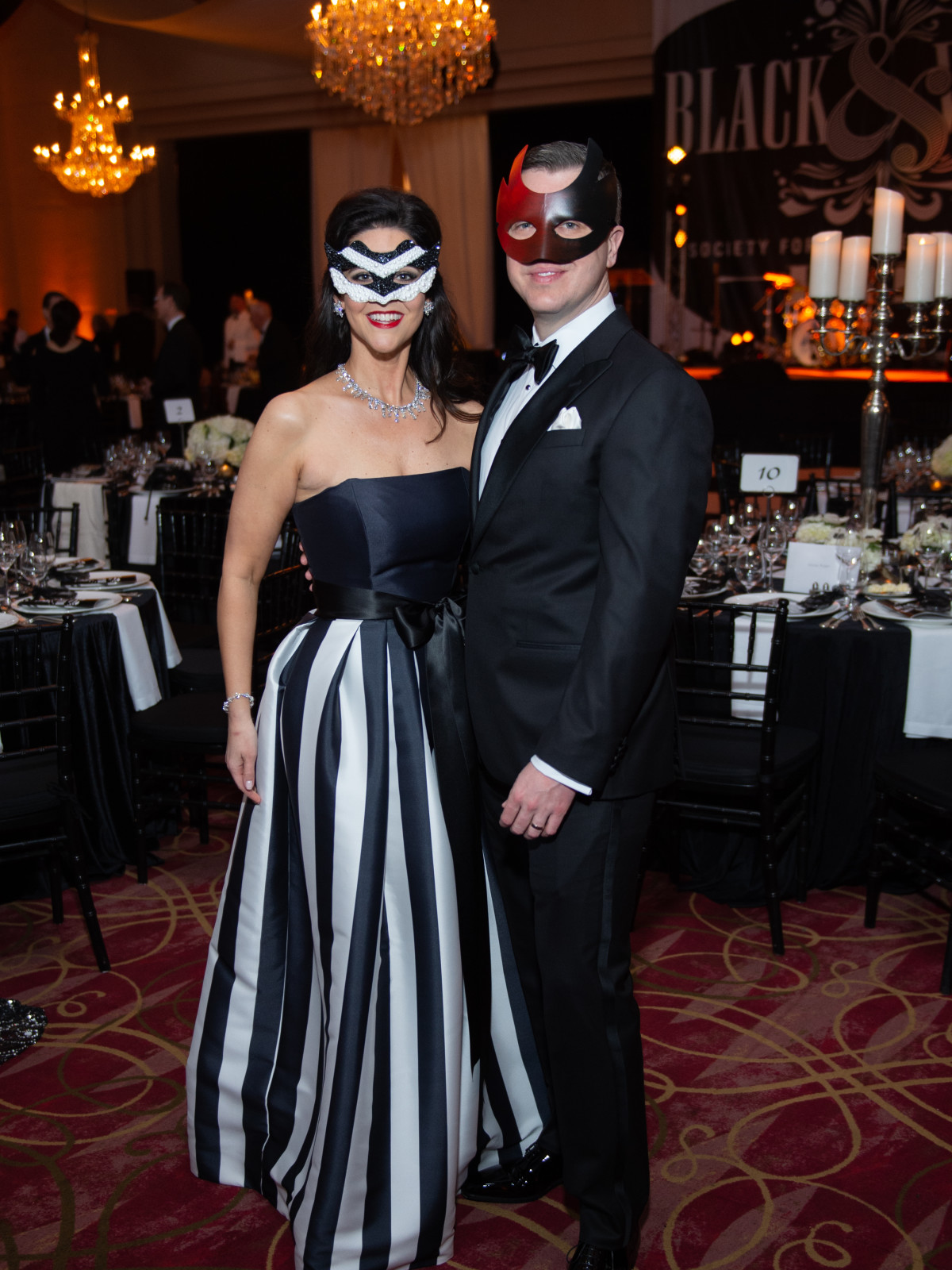 Houstonians party like Capote at red-hot Black & White Ball