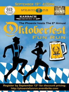6th Annual Oktoberfest Fun Run