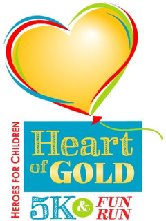 Heroes for Children Presents The 11th Heart of Gold 5K & Fun Run