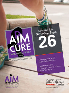 AIM for the CURE Melanoma Walk and Fun Run