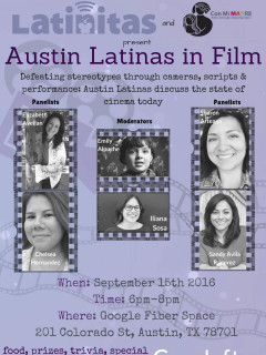 Latinitas Austin & Con Mi MADRE presents Austin Latinas in Film