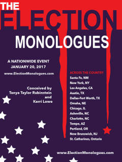 Maggie Duval presents The Election Monologues