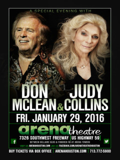Don McLean and Judy Collins