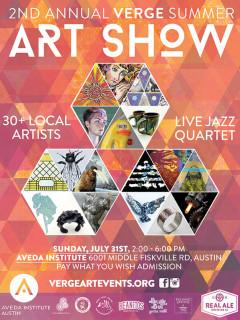 2nd Annual VERGE Summer Art Show