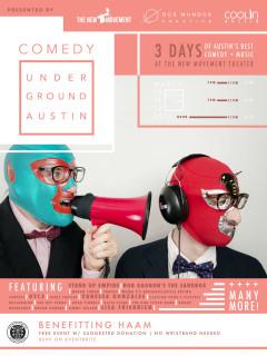 Comedy Underground Benefitting HAAM
