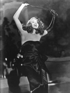 MFAH film series Femme Fatales The Women of Film Noir Aug. 2013 Rita Hayworth in Gilda