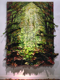 Forest Window by Sharon Kopriva