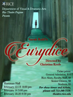 Rice University presents Eurydice