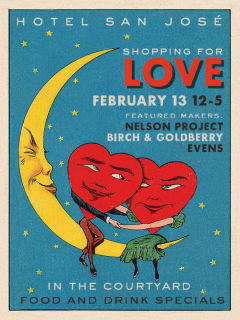 Hotel San Jose presents Shopping For Love