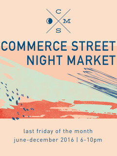 Little D Markets presents Commerce Street Night Market
