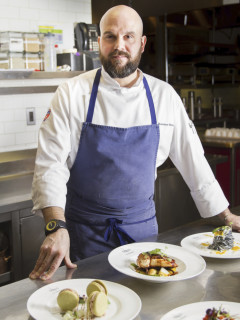 Chef Massimo Bebber