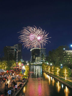 Red, Hot & Blue Festival and Fireworks Extravaganza