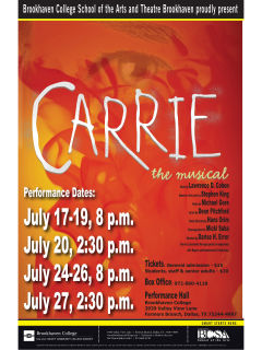 Brookhaven College presents Carrie the Musical