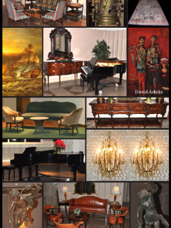 """Lewis & Maese Antiques and Auctions: """"Selling The Contents of The Houston Club"""""""