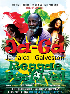 Jamaica Foundation of Houston's Ja-Ga Reggae Festival