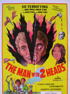 Andy Milligan's the Man With Two Heads weird wednesday