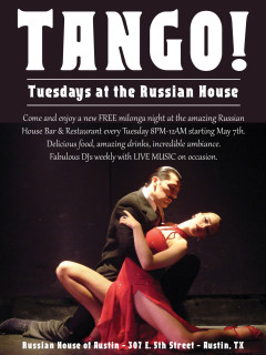 Tango Tuesdays at Russian House