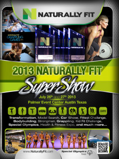 Naturally Fit Super Show 2013 flyer