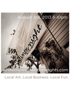 White Linen Night in the Heights 2013