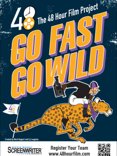 Go Fast Go Wild poster for 48 Hour Film Project