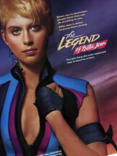 poster for the Legend of Billie Jean with Helen Slater