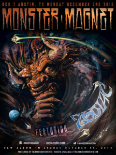 poster for Transmission Events presents Monster Magnet at Red 7