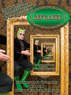 LuckyChaos presents Reframed! poster